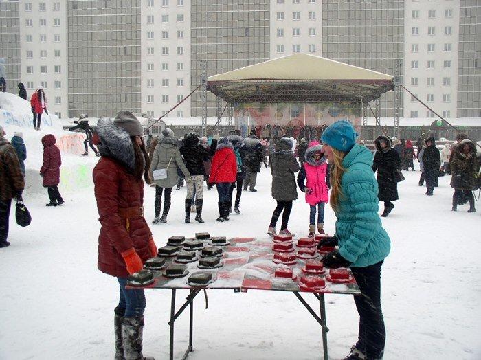 Что было самое интересное на «празднике снега» в Витебске (фото) - фото 4