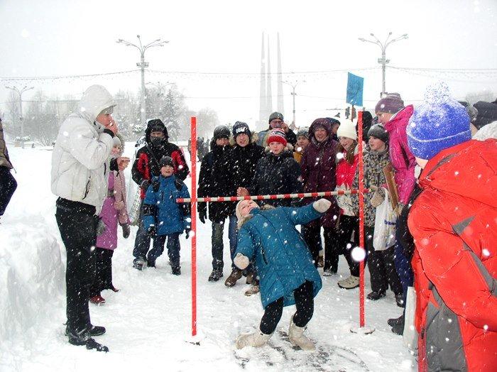 Что было самое интересное на «празднике снега» в Витебске (фото) - фото 3