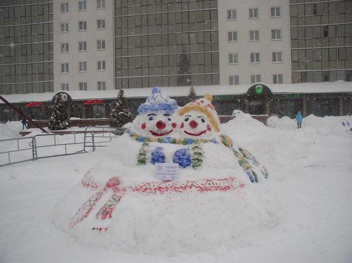 Что было самое интересное на «празднике снега» в Витебске (фото) - фото 7
