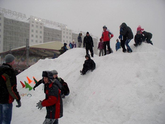 Что было самое интересное на «празднике снега» в Витебске (фото) - фото 5