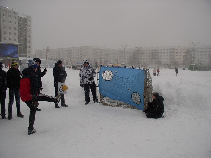 Что было самое интересное на «празднике снега» в Витебске (фото) - фото 11