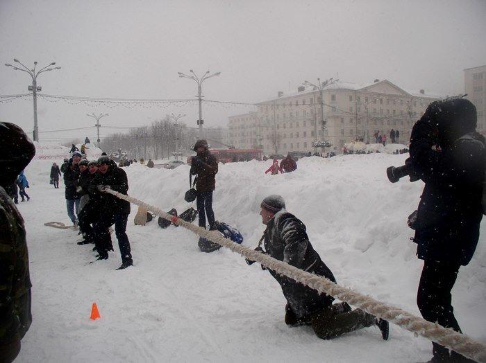 Что было самое интересное на «празднике снега» в Витебске (фото) - фото 9