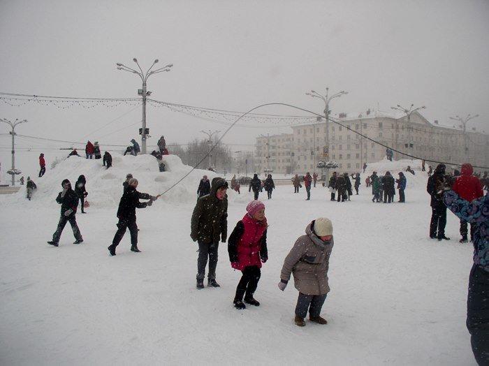 Что было самое интересное на «празднике снега» в Витебске (фото) - фото 10