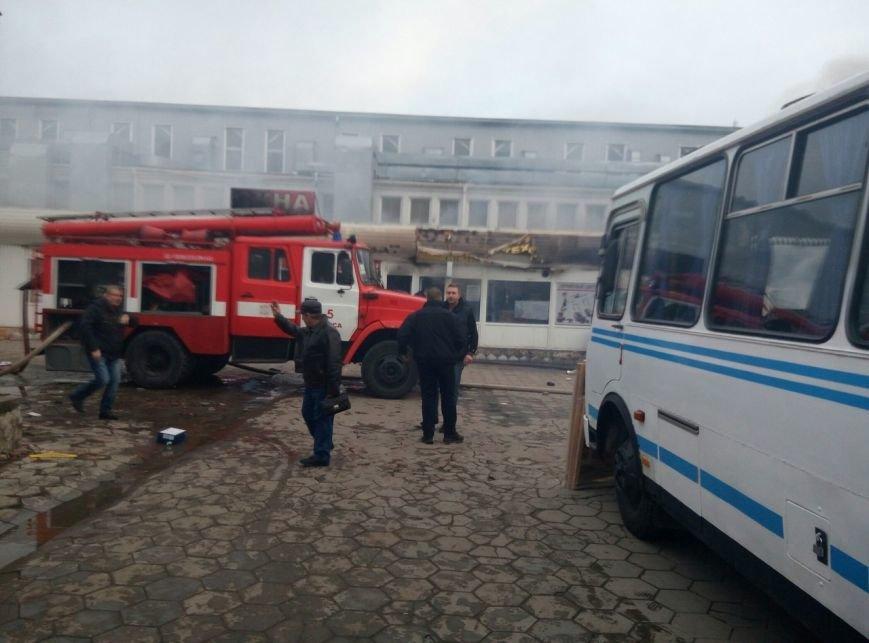 В Одессе на Котовского горит рынок