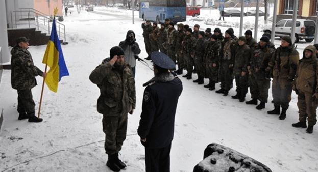 Батальйон особого назначения вернулся в Полтаву (фото) - фото 1