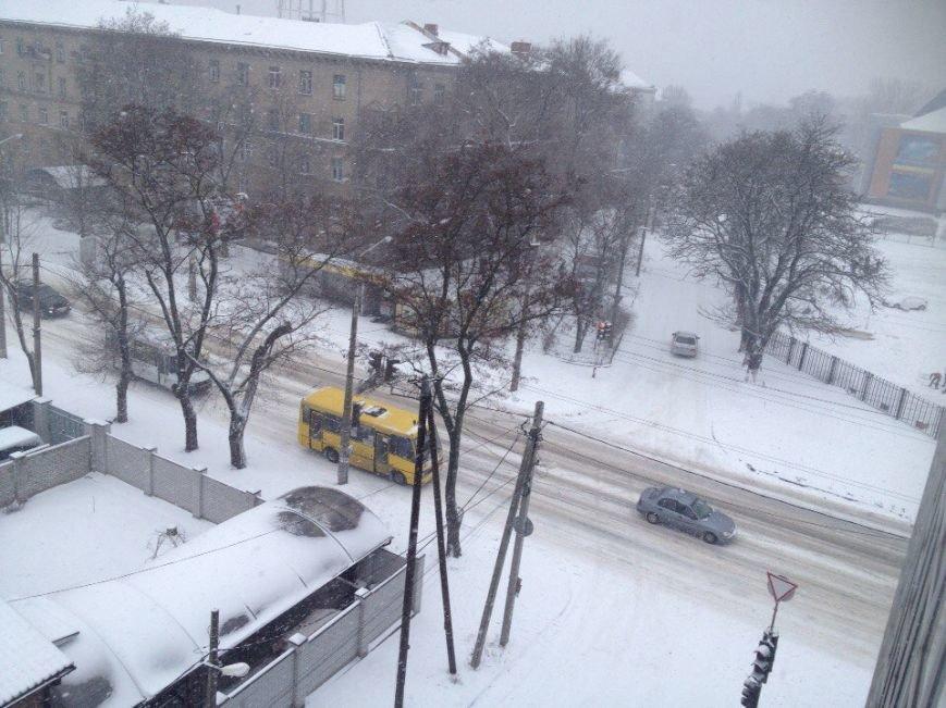 Днепропетровск замело снегом (ФОТО) (фото) - фото 5