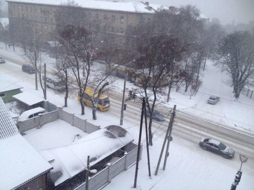 Днепропетровск замело снегом (ФОТО) (фото) - фото 4