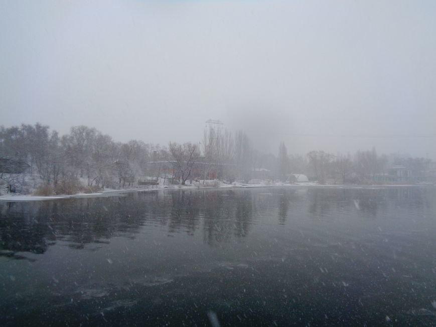 В Днепропетровске снегопад продлится ещё два дня (ФОТО) (фото) - фото 1