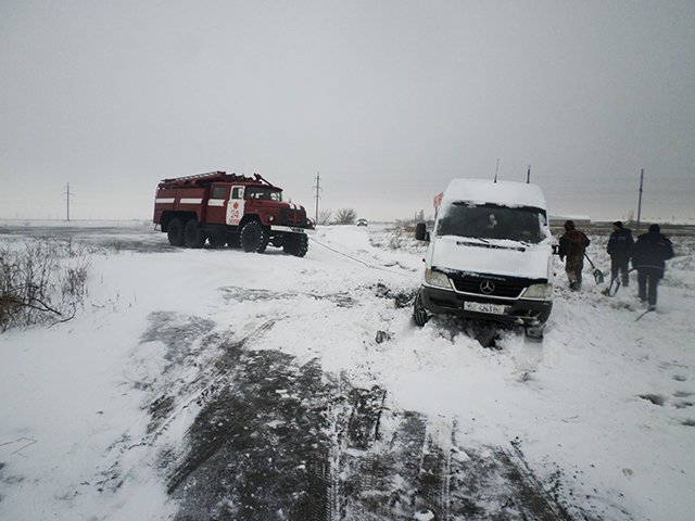 На Николаевщине спасатели вытащили из сугробов 28 автомобилей (ФОТО) (фото) - фото 8