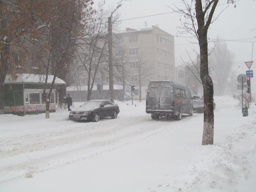 """Кременчуг накрыло снежной """"лавиной"""". Кто и как справляется со снегопадом (фоторепортаж), фото-1"""