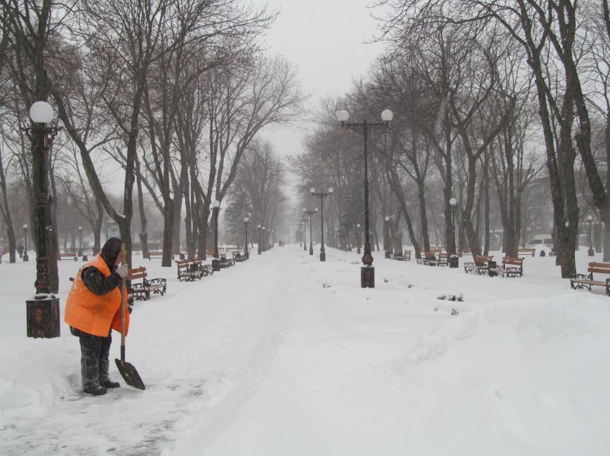 """Кременчуг накрыло снежной """"лавиной"""". Кто и как справляется со снегопадом (фоторепортаж), фото-10"""