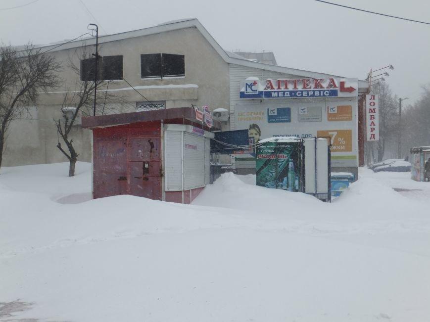 Кировоград продолжает засыпать снегом (ФОТО, ВИДЕО) (фото) - фото 2