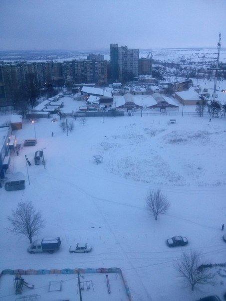 Как криворожане добирались на работу по заметенным снегом дорогам (ФОТО) (фото) - фото 1