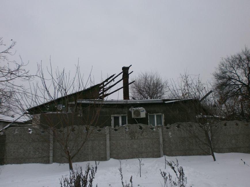 В Днепродзержинске пожарные тушили подгоревшую еду и крышу жилого дома (фото) - фото 1