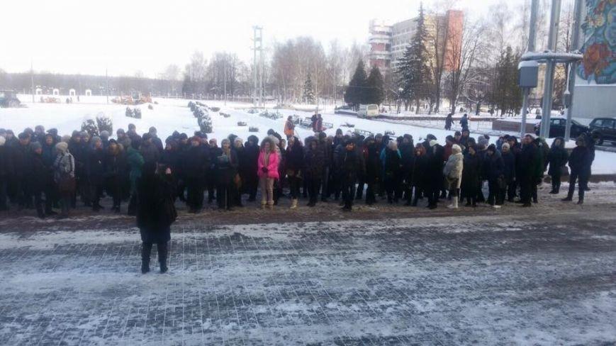 В Новополоцке митинговали индивидуальные предприниматели (фото) - фото 4