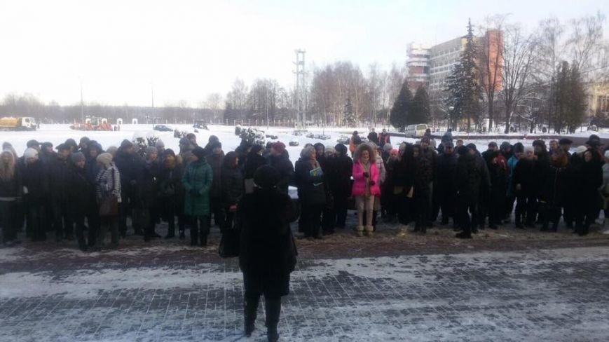 В Новополоцке митинговали индивидуальные предприниматели (фото) - фото 1