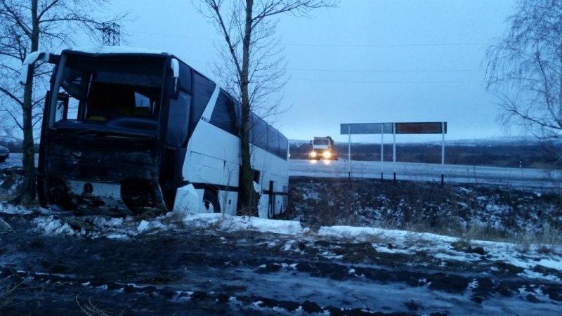 В Воронежской области автобус с донетчанами снова попал в ДТП (фото) (фото) - фото 2