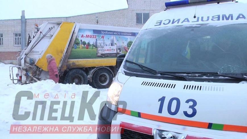 В Сумах мусоровоз наехал на женщину (ФОТО), фото-5