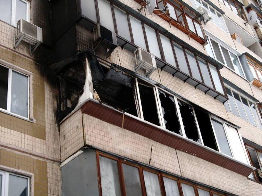 На Троещине пожарные спасли из огня молодого парня (ФОТО), фото-1