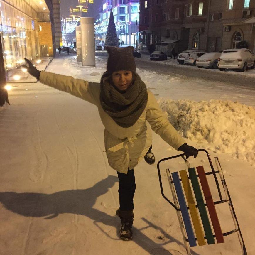 Красивые фото заснеженного Днепропетровска в Instagram (фото) - фото 9
