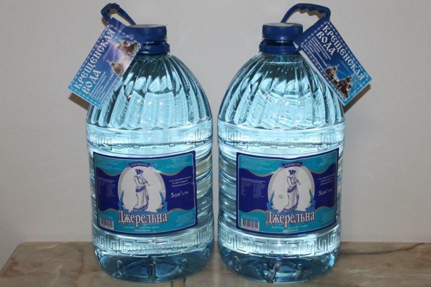 На участке розлива воды предприятия