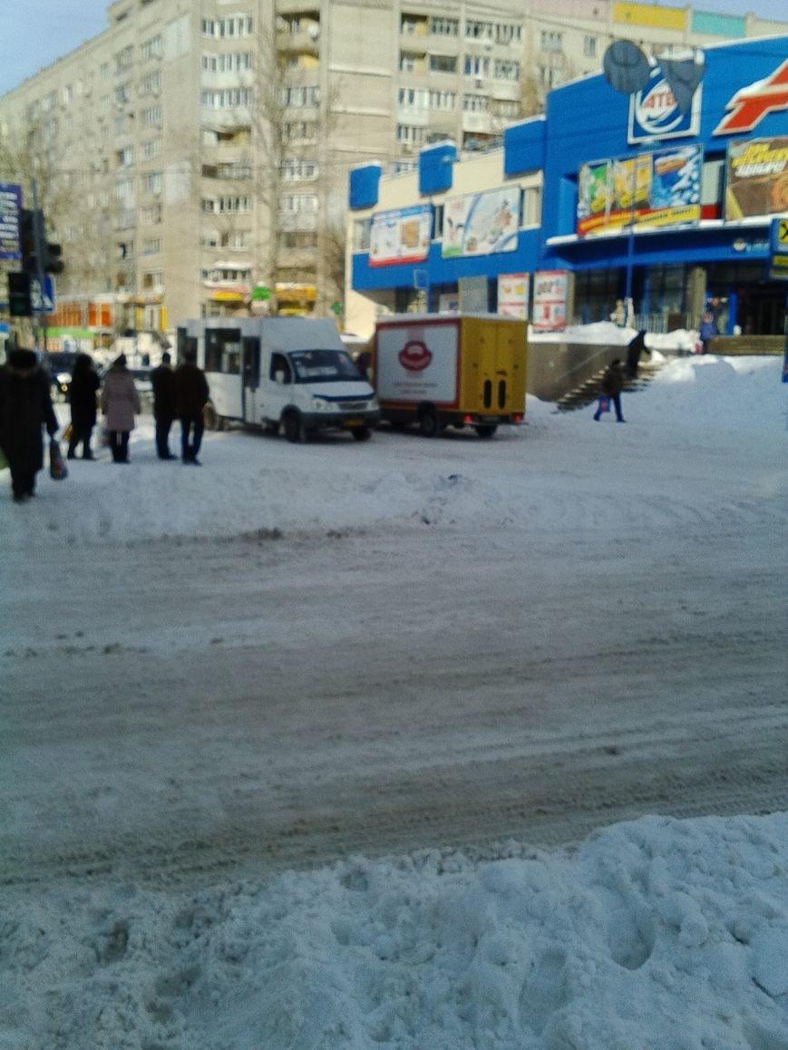 Третий день снежного коллапса в Николаеве: ситуация на дорогах города и области (Постоянно обновляется) (фото) - фото 2