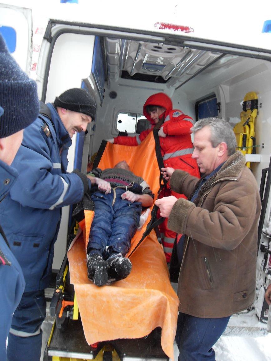 Днепродзержинские спасатели искали заблудившегося на льду рыбака (фото) - фото 4