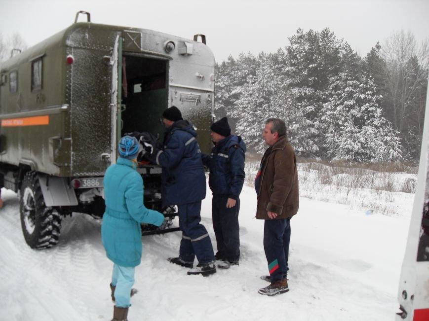 Днепродзержинские спасатели искали заблудившегося на льду рыбака (фото) - фото 3