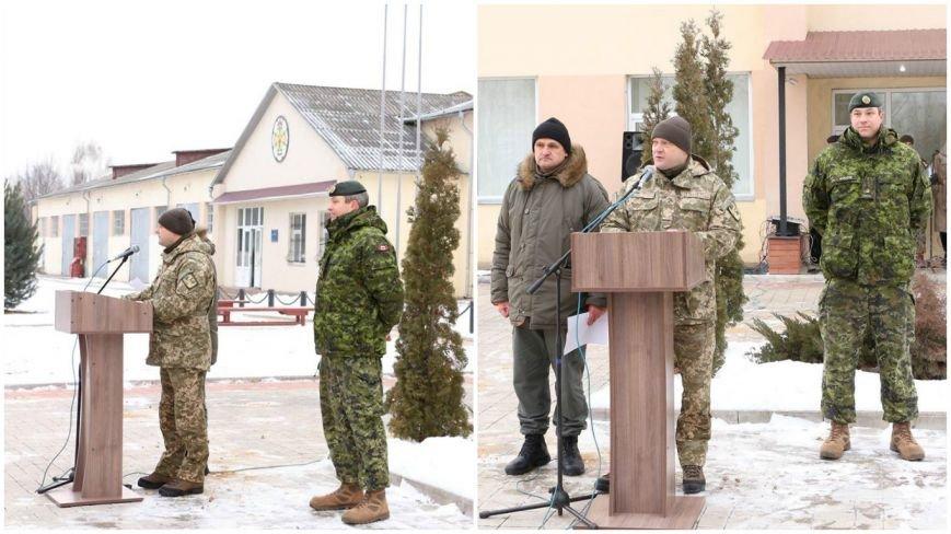 На Хмельниччині канадці розпочали новий курс підготовки українських саперів (Фото) (фото) - фото 1