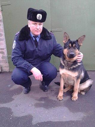 В Кривом Роге полицейская служебная собака помогла выследить  убийцу (фото) - фото 1