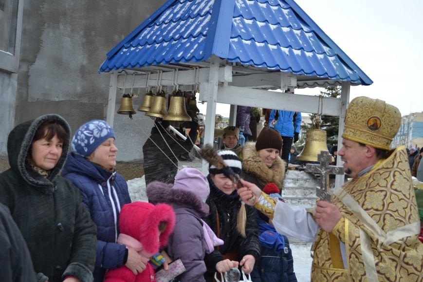 В храмах Днепродзержинска освятили воду в честь празднования Крещения, фото-2