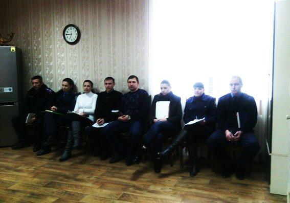 В Артемовске-Бахмуте полицейских обучали служебной подготовке в условиях АТО (фото) - фото 1
