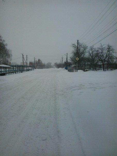 Кременчугская власть просит предприятия, учреждения и простых граждан помочь убрать снег из дворов (ФОТО) (фото) - фото 1