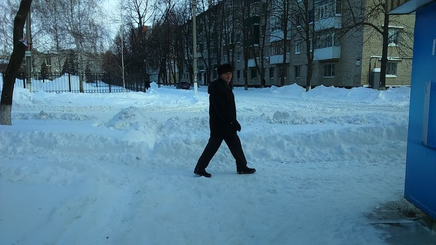 Кременчугская власть просит предприятия, учреждения и простых граждан помочь убрать снег из дворов (ФОТО), фото-1