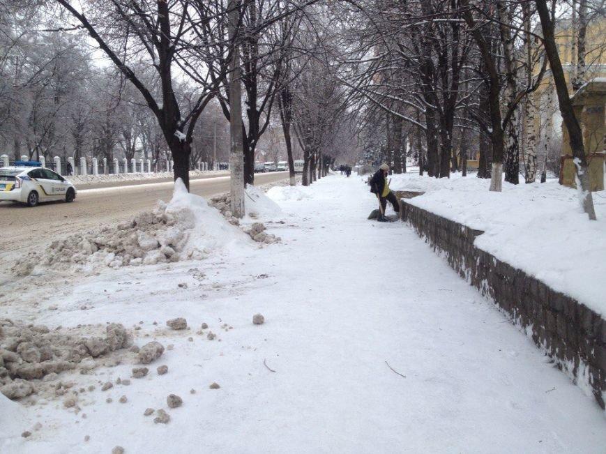 Днепропетровск превратился в сплошной каток для пешеходов (ФОТО) (фото) - фото 2