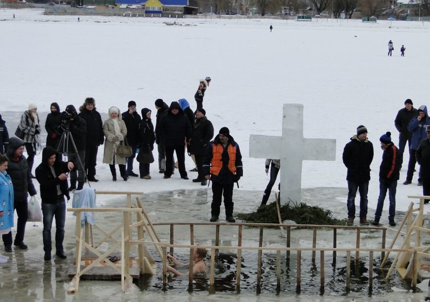 Водохресні купання у Хмельницькому (Фото) (фото) - фото 2