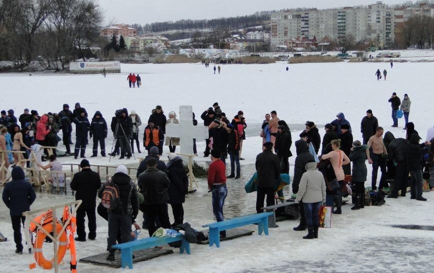 Водохресні купання у Хмельницькому (Фото) (фото) - фото 1