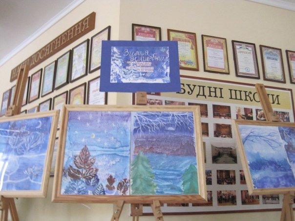 В Макеевке открылась выставка детских рисунков