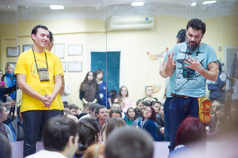 Путешественник Антон Кротов в Белгороде: Планета огромна, и в одном месте жить скучно (фото) - фото 2
