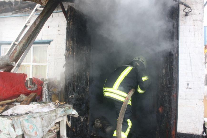 Запорожские спасатели вынесли из огня 72-летнюю женщину, - ФОТО (фото) - фото 1