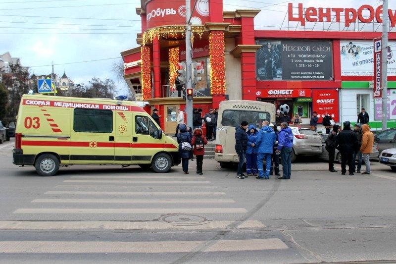 ДТП в центре Ростова: маршрутка протаранила два автомобиля, фото-6