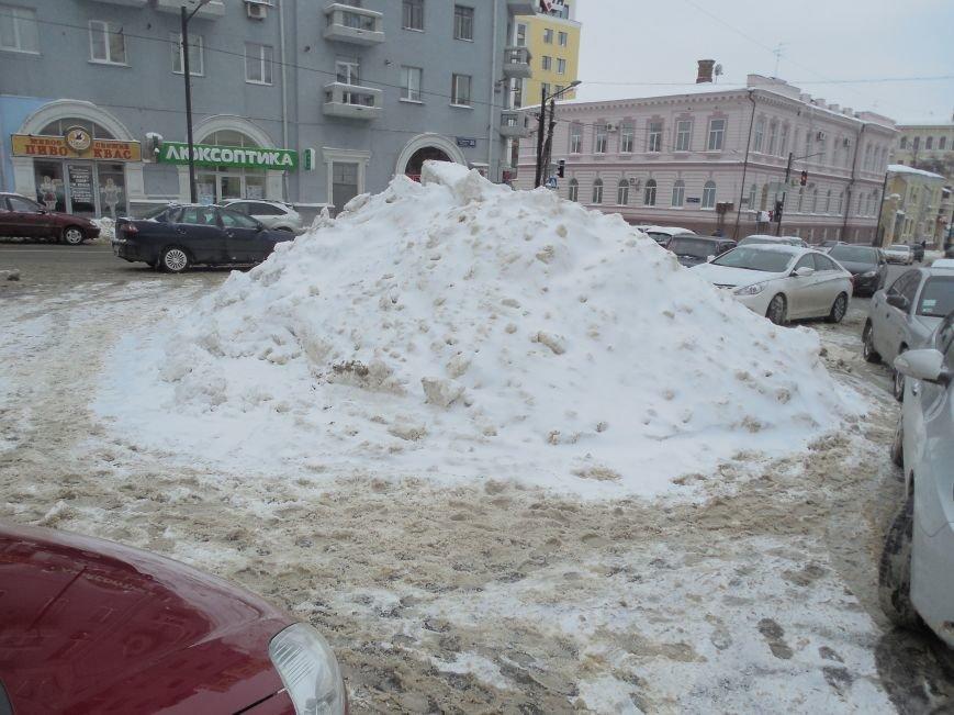 Харьковские «Альпы» и «Гималаи»: как в городе борются со снежными заносами (ФОТОФАКТ) (фото) - фото 2