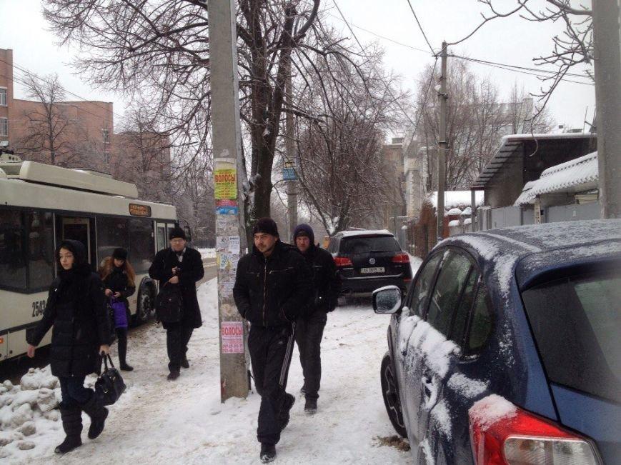 В Днепропетровске продолжается борьба со снегом (ФОТО) (фото) - фото 4