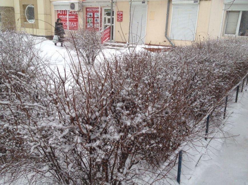В Днепропетровске продолжается борьба со снегом (ФОТО) (фото) - фото 5
