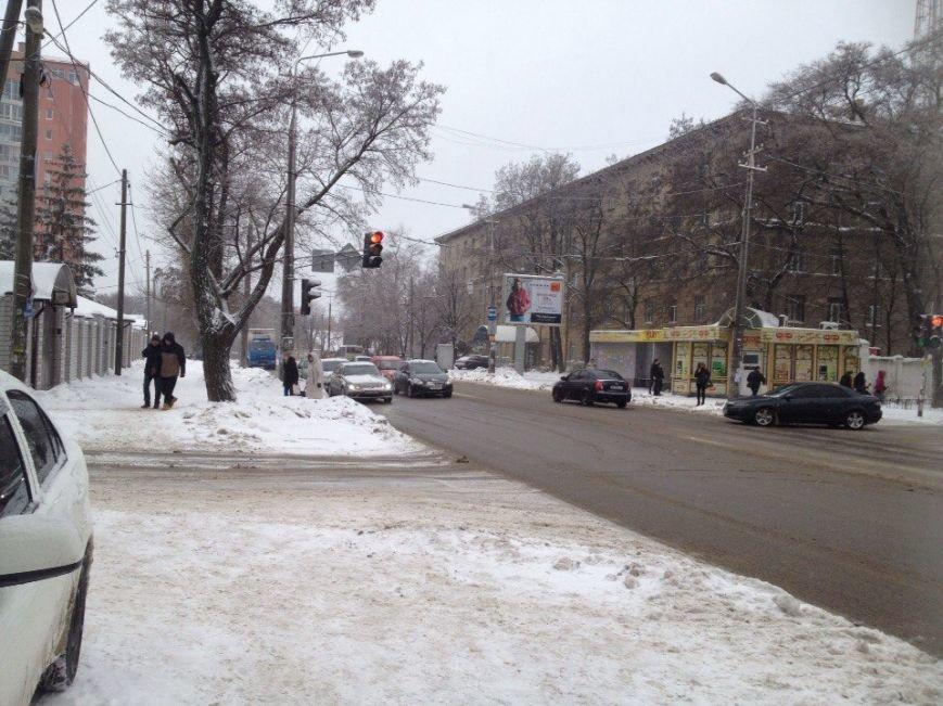 В Днепропетровске продолжается борьба со снегом (ФОТО) (фото) - фото 2