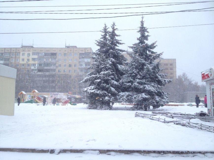 В Днепропетровске продолжается борьба со снегом (ФОТО) (фото) - фото 9