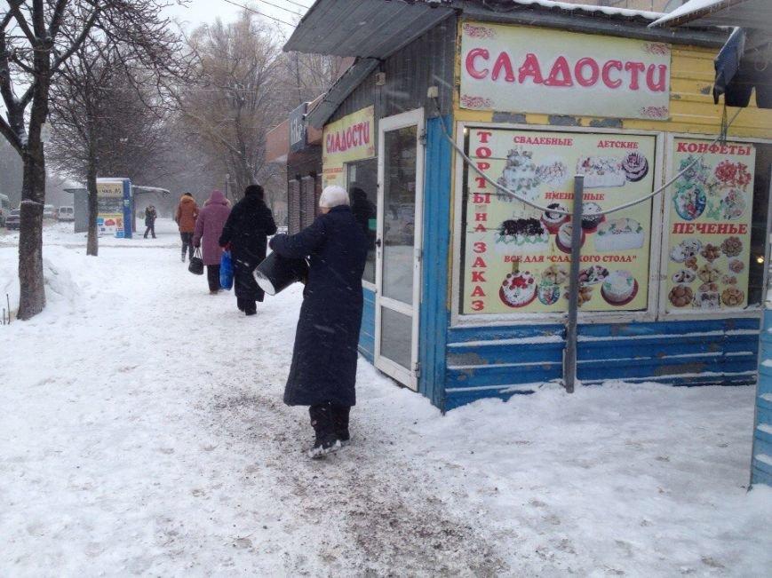 В Днепропетровске продолжается борьба со снегом (ФОТО) (фото) - фото 11