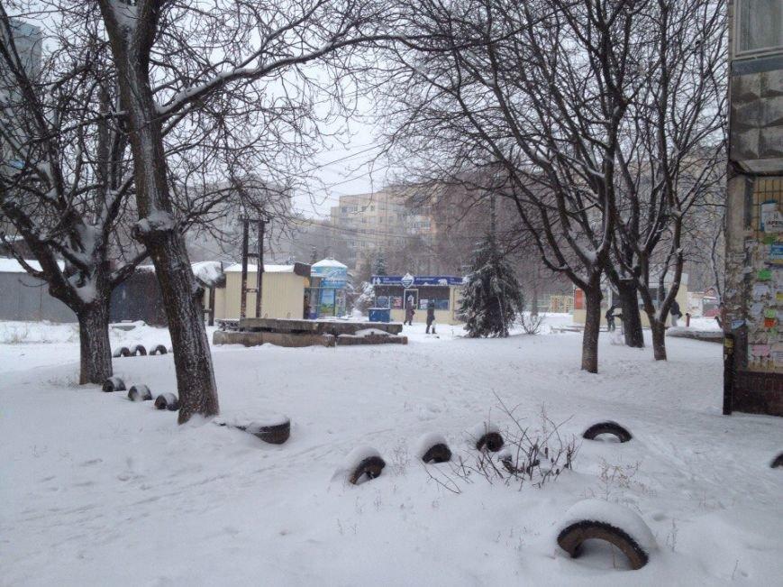 В Днепропетровске продолжается борьба со снегом (ФОТО) (фото) - фото 10