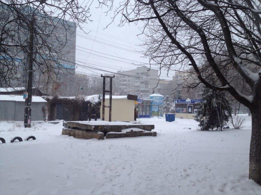 В Днепропетровске продолжается борьба со снегом (ФОТО) (фото) - фото 8