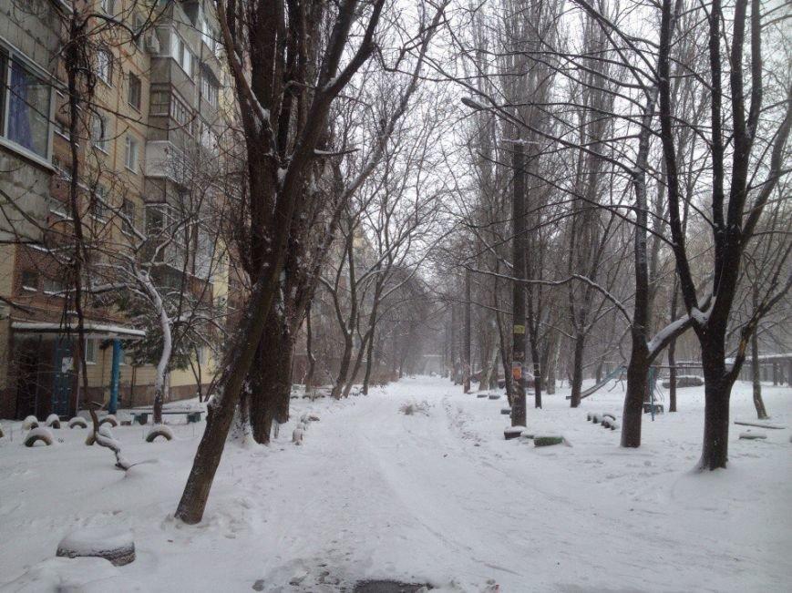 В Днепропетровске продолжается борьба со снегом (ФОТО) (фото) - фото 3